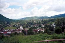 to 64K Jpeg The city of Kalaw set in the hills of southwestern Shan state