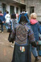 Jpeg 34K Back view of the finely embroidered Black Miao woman's jacket - Dai Lo village, Shi Zi township, Ping Ba county, Guizhou county 0010z18.jpg