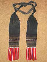 44K Jpeg Hani woman's belt, Menghai  county, Yunnan province, southwest Chinato