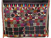 to 47K Jpeg Detail of embroidered back panel of a Hani woman's jacket, Menghai county, Yunnan province