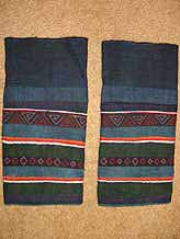 to 40K Jpeg Hani woman's leggings, Menghai county, Yunnan province, southwest China