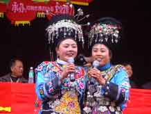 to Jpeg 58K Festival in Songtao Miao Autonomous County, Tongren Prefecture, Eastern Guizhou Province, 4 February, 2004.