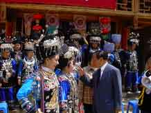 to Jpeg 57K Festival in Songtao Miao Autonomous County, Tongren Prefecture, Eastern Guizhou Province, 9 May, 2004.
