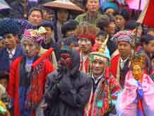 to Jpeg 52K Festival in Songtao Miao Autonomous County, Tongren Prefecture, Eastern Guizhou Province, 10 March, 2003.