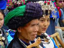 to Jpeg 57K Festival in Songtao Miao Autonomous County, Tongren Prefecture, Eastern Guizhou Province, 26 May, 2004.