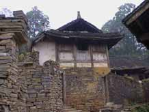 to 46K Jpeg Fine dry-stone walling around a house in a village in Songtao Miao Autonomous County, Tongren Prefecture, eastern Guizhou Province.