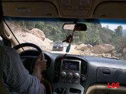 Mr. Phai cheerfully drove us 2 hours each way on a dusty and rocky road to travel 15 kilometers to Phiengdee Village, outside of Xam Tai.