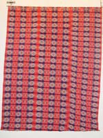 to 70K jpg 01 - Itneg cotton blanket, Northern Luzon, early 20th century - 170 cm x 230 cm
