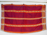 to 67K Jpg 15 - Gadang women's cotton and beaded skirt, Paracelis Mountain Province, Northern Luzon, 20th century. 99 cm x 53.5 cm