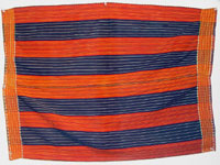 to 70K Jpg 16 - Gadang woman's cotton wrap-around skirt, Paracelis Mountain Province, Northern Luzon, early 20th century. 75 cm x 105 cm