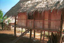 to Jpeg 40K U Lo-Akha house on stilts in a village in the hills around Chiang Rai 8812p17.jpg
